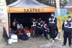 Tilannekuva Saappaan teltalla