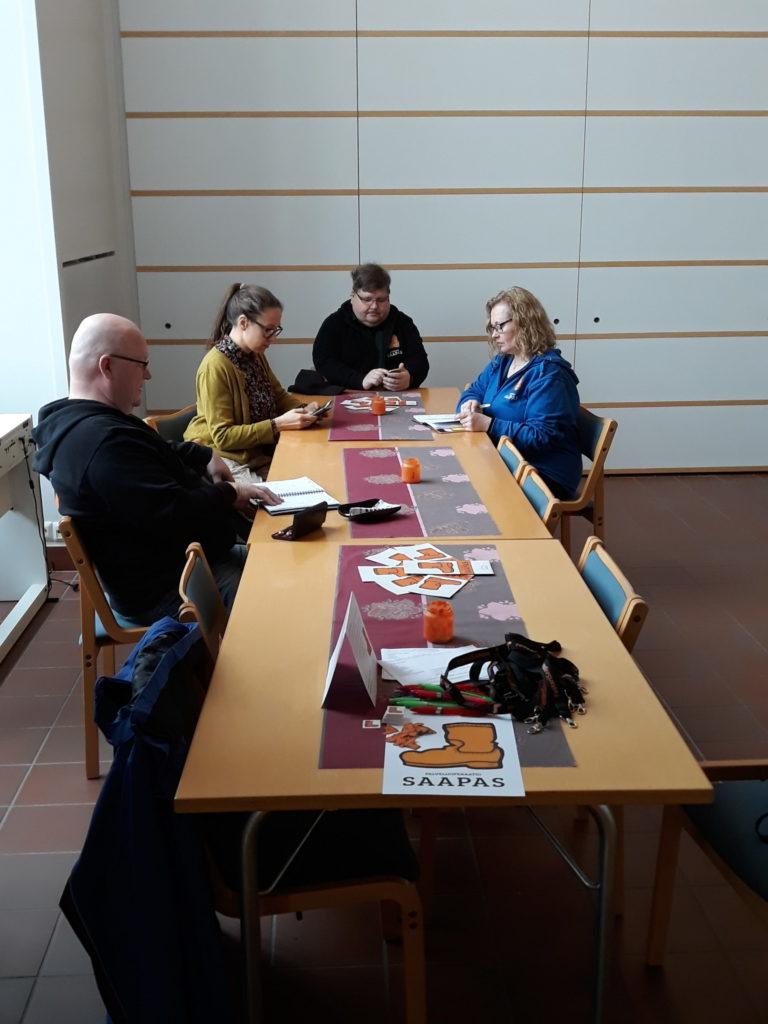 Kuva Saappaan Tukiyhdistyksen kokouksesta Noljakassa